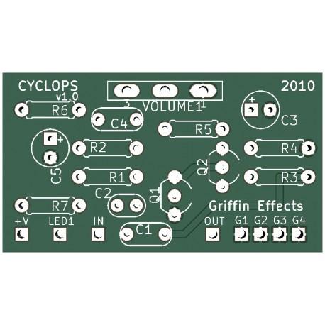 Cyclops Fuzz PCB
