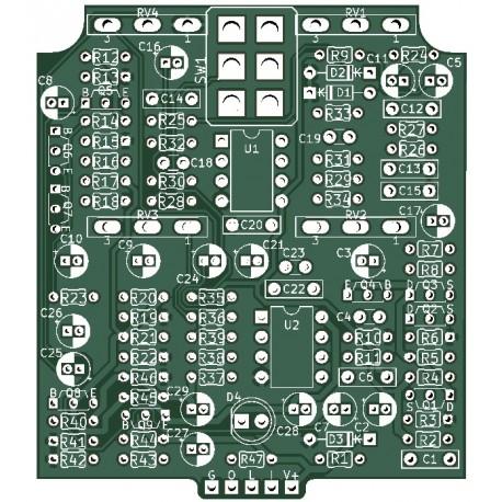 Hype-R-Fuzz PCB