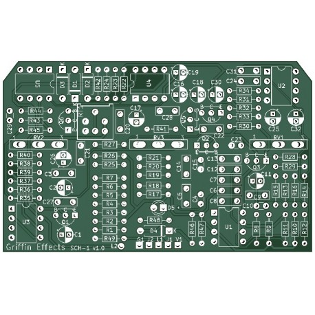 Analog Octave Down PCB