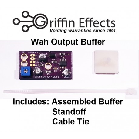 Crybaby Output Buffer Kit