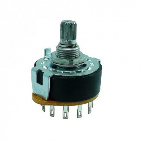 Rotary Switch 3 Pole 4 Position - Alpha