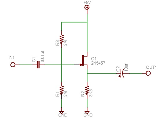 transistor buffer 1