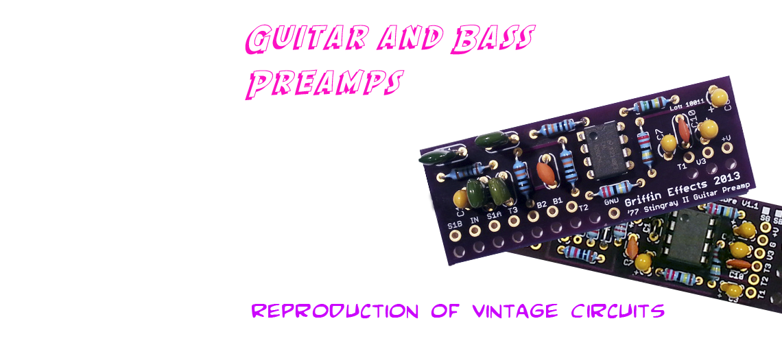Guitar and Bass Preamps